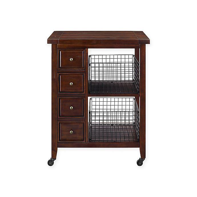 Alternate image 1 for Crosley Furniture Sienna Kitchen Cart
