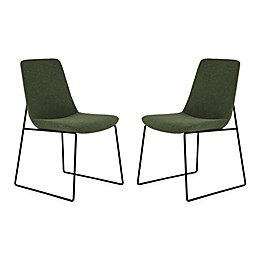 Moe`s Home Collection Upholstered Dining Chairs (Set of 2)