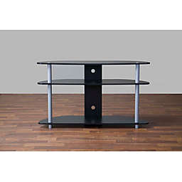 Baxton Studio Orbit TV Stand in Black