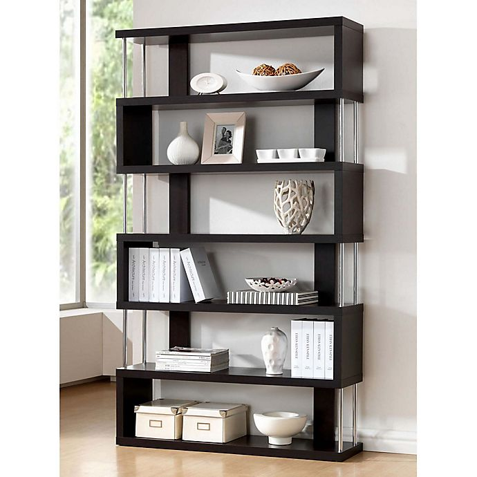 Alternate image 1 for Baxton Studio Barnes Bookcase
