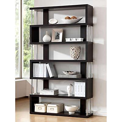 Baxton Studio Barnes Bookcase