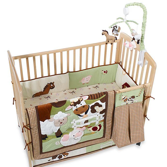 Farm Babies Crib Bedding And