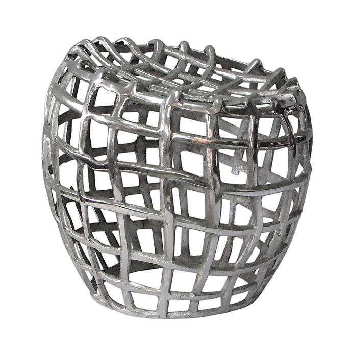 Alternate image 1 for Moe's Home Collection Birdcage Stool in Silver