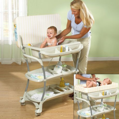 Primo Euro Spa Baby Bath Tub And Changing Table Buybuy Baby