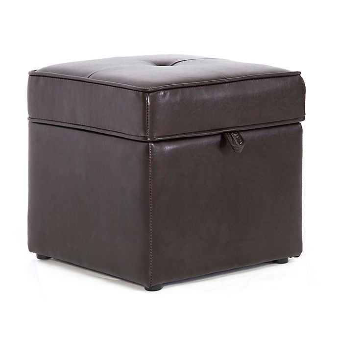 Phenomenal Baxton Studio Sydney Storage Ottoman In Brown Bed Bath Ocoug Best Dining Table And Chair Ideas Images Ocougorg