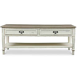 Baxton Studio Dauphine Coffee Table in White