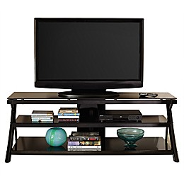 Steve Silver Co. Cyndi TV Console in Black