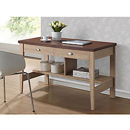 Baxton Studio Filmore Writing Desk in Brown