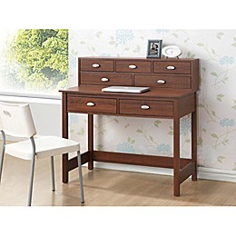 Baxton Studio McKinley Desk in Brown