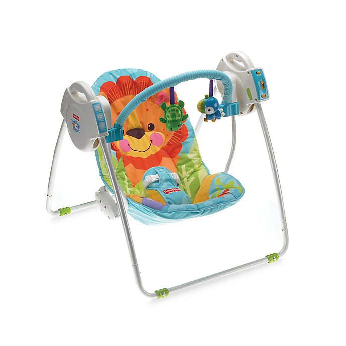 Fisher Price Precious Planet Take Along Baby Swing Bed Bath