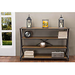 Baxton Studio Lancashire Console Table in Brown