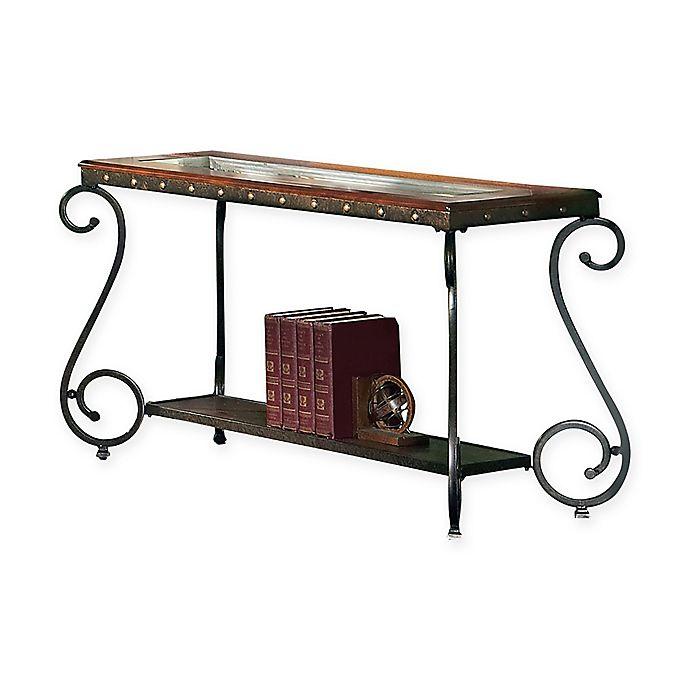 Alternate image 1 for Steve Silver Co. Ellery Sofa Table in Cherry