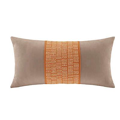 N Natori® Nara Oblong Throw Pillow in Neutral