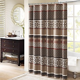 Madison Park Princeton 72-Inch Shower Curtain