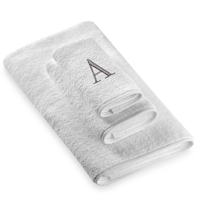 Alternate image 1 for Avanti Premier Silver Block Monogram Letter \