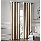Garland 63-Inch Lined Grommet Top Room Darkening Window Curtain Panel in Linen