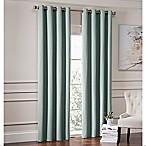 Garland 63-Inch Lined Grommet Top Room Darkening Window Curtain Panel in Spa