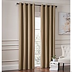 Garland 63-Inch Lined Grommet Top Room Darkening Window Curtain Panel in Mocha
