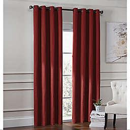 Garland Lined Grommet Top Room Darkening Window Curtain Panel