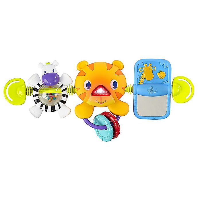 Alternate image 1 for Bright Starts™ Take Along Carrier Toy Bar