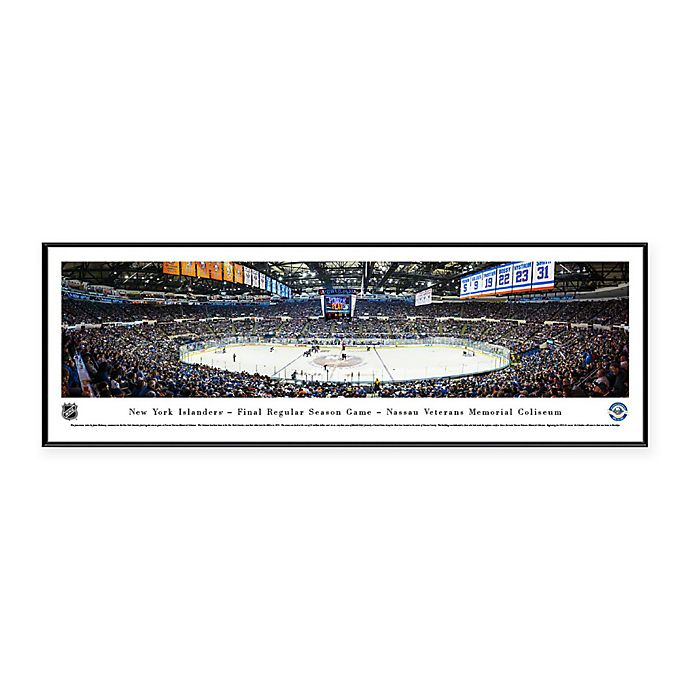 Alternate image 1 for Blakeway Panoramas NHL New York Islanders Print with Standard Frame
