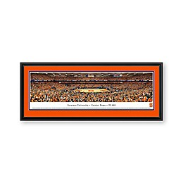 Syracuse University Panoramic Print with Deluxe Frame
