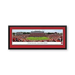 North Carolina State University Panorama Stadium Print with Deluxe Frame