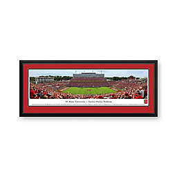 North Carolina State University Panorama Stadium Print with Deluxe Frame