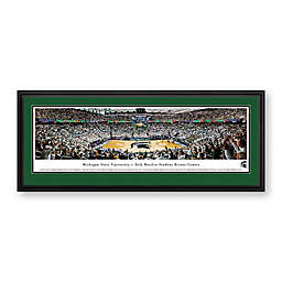 Michigan State University Panoramic Print with Deluxe Frame
