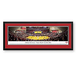 Indiana University Panorama Arena Print with Deluxe Frame