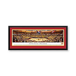 Iowa State University Panorama Arena Print with Deluxe Frame