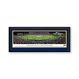 Georgia Southern University Panorama Stadium Print with Deluxe Frame