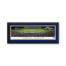 Georgia Southern University Panorama Stadium Print with Deluxe Frame