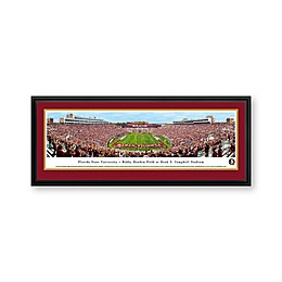 Florida State University Panorama Stadium Print with Deluxe Frame