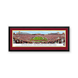 Florida State University Panorama Stadium Print with Deluxe Frame