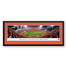 Clemson University Panorama Stadium Print with Deluxe Frame