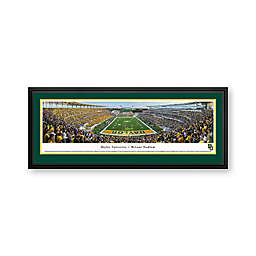 Baylor University Panorama Stadium Print with Deluxe Frame