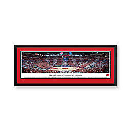 University of Wisconsin Panoramic Print with Deluxe Frame