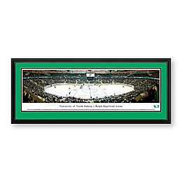Blakeway Panoramas University of North Dakota Hockey Print with Deluxe Frame