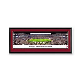 University of Alabama Panorama Stadium Print with Deluxe Frame
