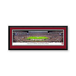 University of Alabama Panorama Stadium Print with Deluxe Frame