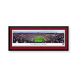 Texas A&M University Panorama Stadium Print with Deluxe Frame