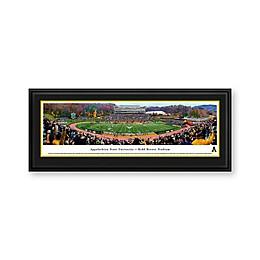 Appalachian State University Panorama Stadium Print with Deluxe Frame
