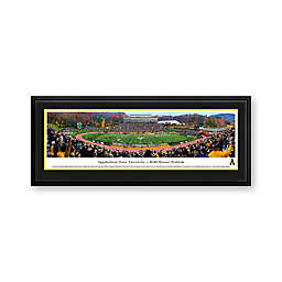 Appalachian State University Panorama Stadium Print with Deluxe Frame