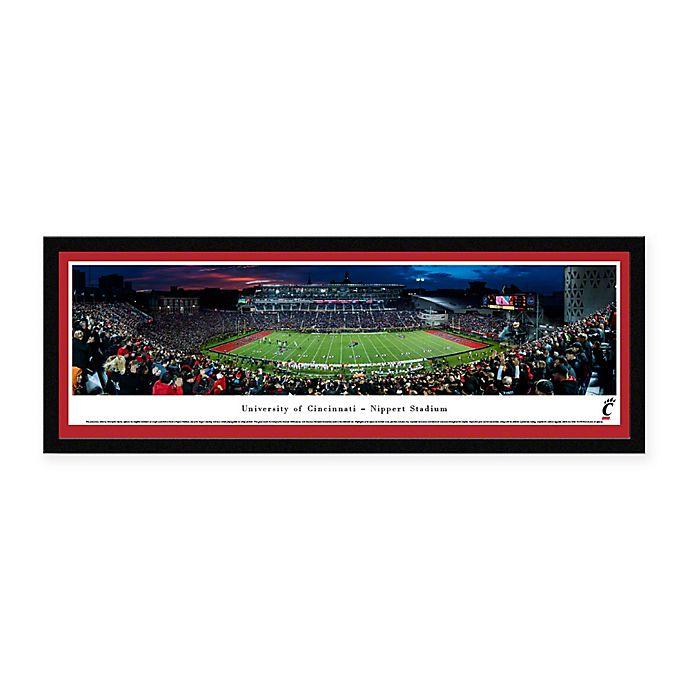 Alternate image 1 for University of Cincinnati Panoramic Football Stadium Print with Select Frame