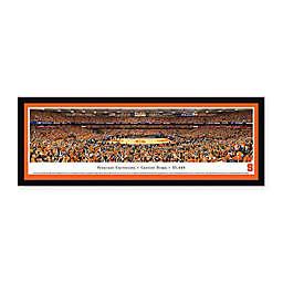 Syracuse University Panoramic Basketball Arena Framed Wall Art