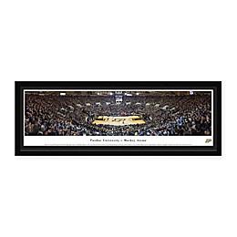 Purdue University Panoramic Basketball Arena Framed Wall Art