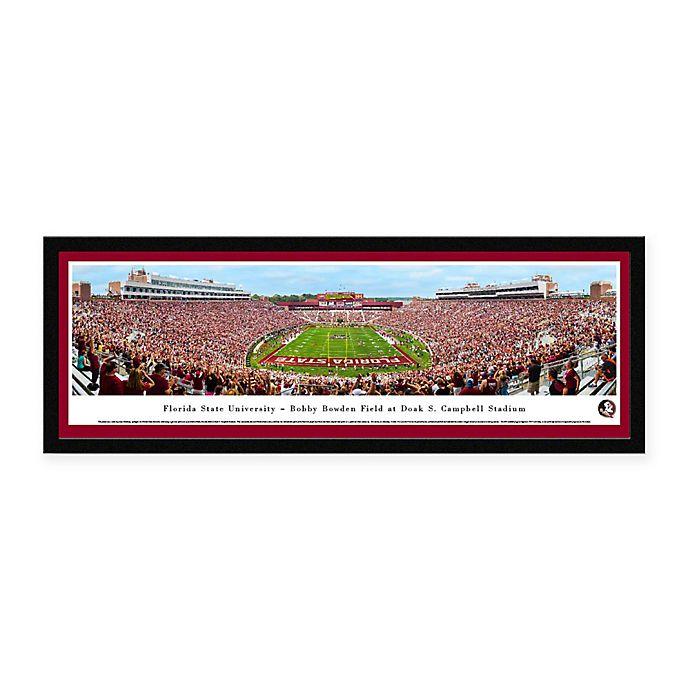 Alternate image 1 for Florida State University Panoramic Football Stadium Print with Select Frame