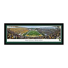 Baylor University Panoramic Football Stadium Print with Select Frame