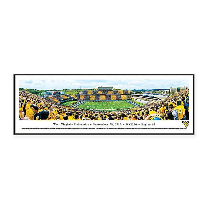 Alternate image 1 for NCAA Framed Stadium Photo of West Virginia University - Mountaineer Field/Milan Pusker Stadium